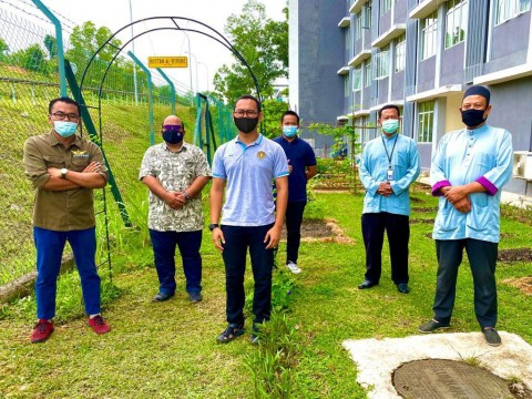 Visit by Lembaga Perindustrian Nanas Malaysia (LPNM) Pahang to Bustan Al-Biruni