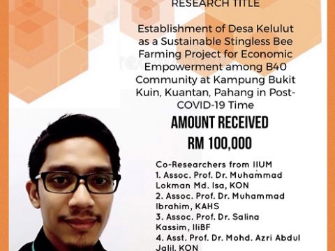 Congratulations on Securing the Hasanah Special Grant (HSG) 2020