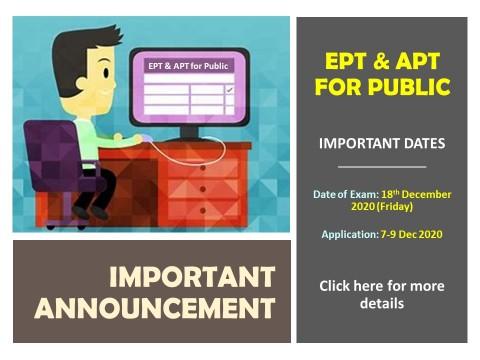 EPT & APT FOR PUBLIC (DECEMBER 2020)