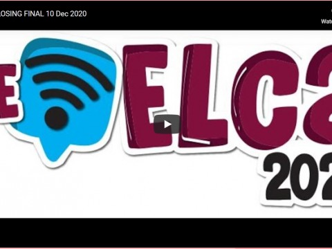 Congratulations to CELPAD students: Participation in ELCA 2020