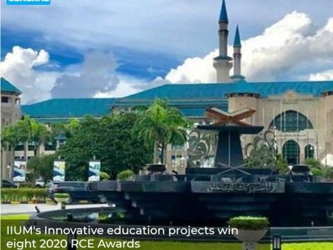 IIUM's Innovative education projects win eight 2020 RCE Awards