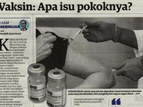 Vaksin: Apa isu pokoknya?