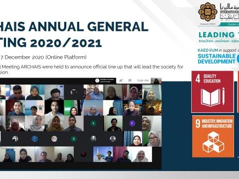 ARCHAIS Annual General Meeting 2020/2021
