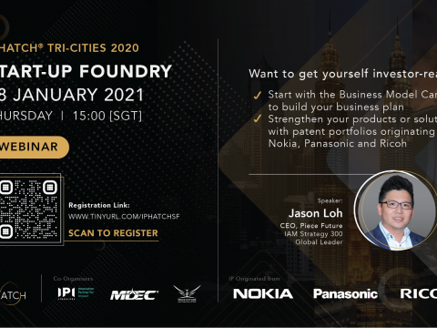 IPHatch Challenge - Malaysia: Webinar on Start-up Foundry Tri-Cities