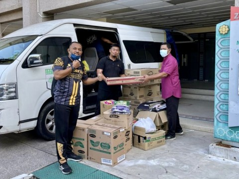 AIKOL ORGANISES FLOOD RELIEF PROJECT 2021