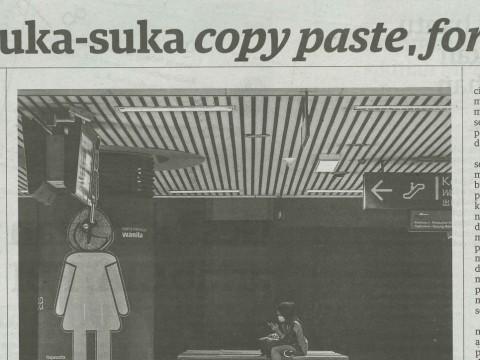 Usah suka-suka copy paste, forward