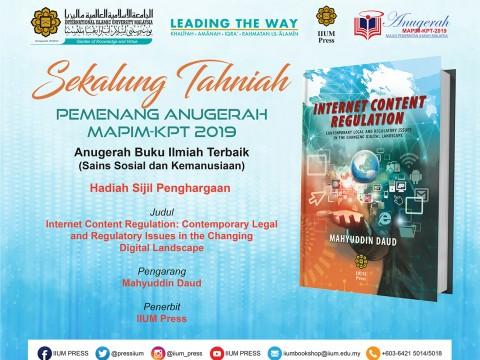 ANUGERAH MAPIM-KPT 2019 [Anugerah Buku Ilmiah Terbaik]