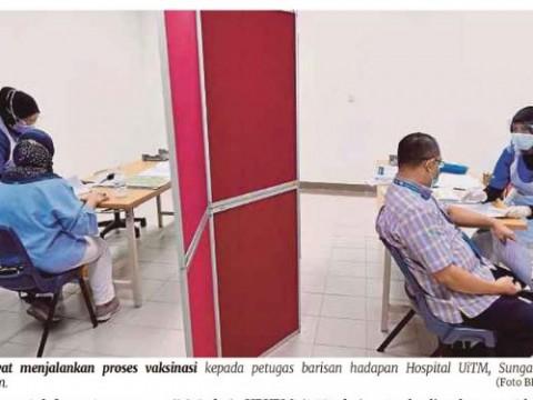 6 hospital universiti jadi Pusat Pemberian Vaksin
