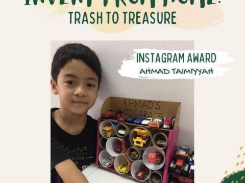 Invent From Home : Trash to Treasure