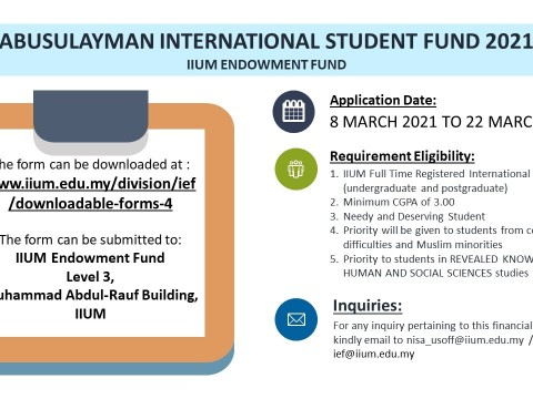 ABUSULAYMAN INTERNATIONAL STUDENT FUND