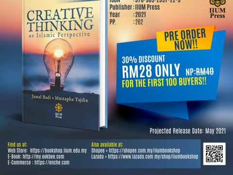 OPEN FOR PRE-ORDER : Creative Thinking an Islamic Perspective: 2nd Edition