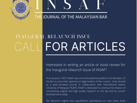 INSAF Inaugural Relaunch Issue: Call for Articles