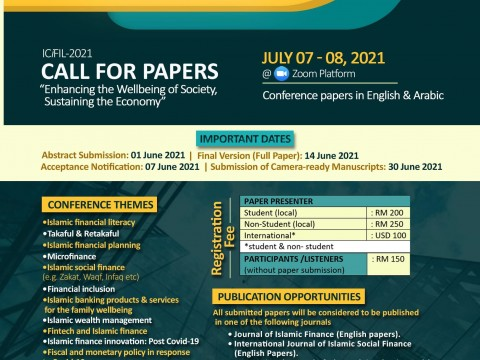 International Conference on Islamic Financial Literacy 2021 (ICiFIL 2021)