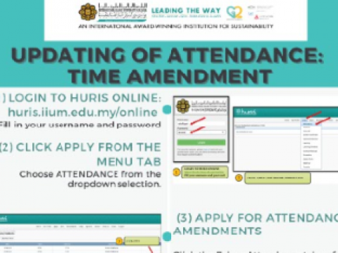 Tips of the Month : Updating of Attendance - Time Attendance