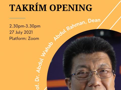KICT Takrim Opening
