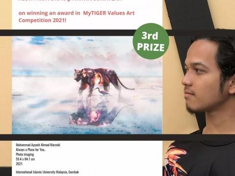 Congratulations to Muhammad Ayyash Ahmad Marzuki!