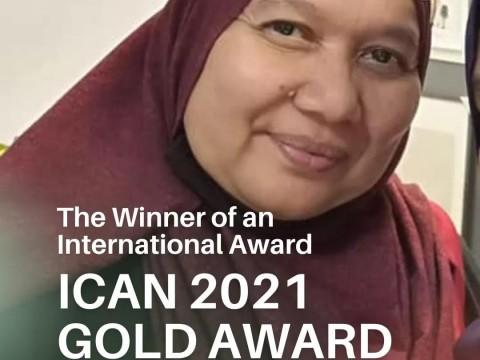 Congratulation to Asst. Prof. Dr. Norzalifa Zainal Abidin!