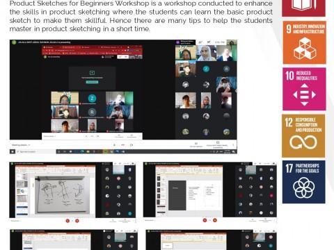 AAD Week - Workshop & Demonstration: Product Sketches for Beginners