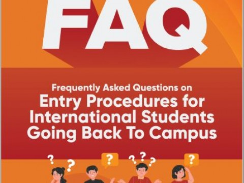 FAQ on Entry Procedure for International Students Back To Campus
