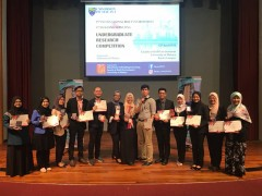 The 3rd International Built Environment Undergraduate Research Competition (BEURC) 2018
