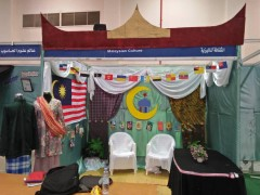 KLM Students organized culture day at Nizwa University, Oman