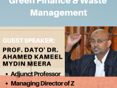 Business of Banking : Sustainable Development Goals (SDGs): Green Finance and Waste Management by Prof. Dato' Dr. Ahamed Kameel Mydin Meera