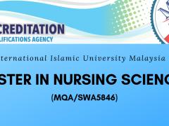 Accreditation of Master in Nursing Sciences
