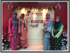 IIUM Pagoh: Sambutan Hari Raya Aidil Fitri di Jabatan Penerangan Malaysia Muar, Johor Darul Takzim