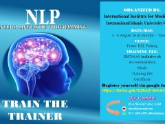 NLP (NEURO-LINGUISTIC PROGRAMMING) (4 - 6 August 2019 / Sunday - Tuesday)