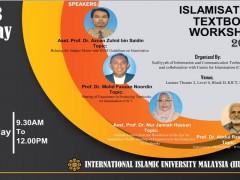 Islamisation Textbook Workshop 2019