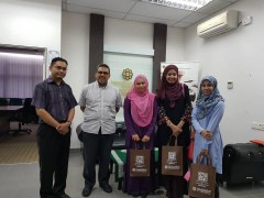 Meeting on Research Collaboration with Researchers from Faculty of Muamalat and Management, KUIS