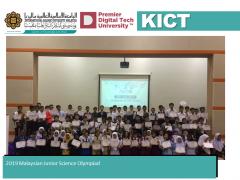 2019 Malaysian Junior Science Olympiad