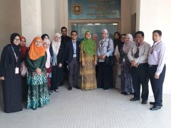 A Research Collaboration Visit by PICOM