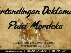 'Pertandingan Deklamsi Puisi Merdeka'