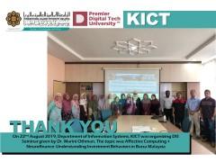 DIS Seminar - Affective Computing + Neurofinance