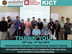 International Collegiate Programming Contest Training (ICPC)