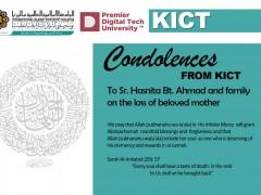 Condolences to Sr.Hasnita