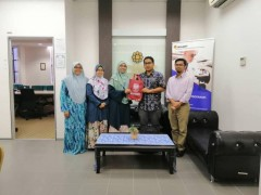 A visit from Universitas Mataram Lombok NTB Indonesia 08/10/2019
