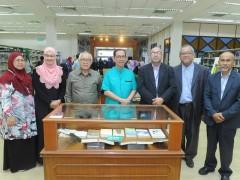 Launching of National Laureate Muhammad Haji Salleh Exhibition