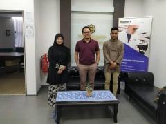 Meeting with En Hadi from WhatsHalal
