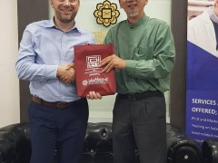 A visit from Dr Ermin Sinanovic Director, Center for Islam in the Contemporary World, Shenandoah University