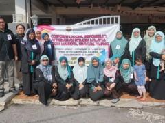 CORPORATE SOCIAL RESPONSIBILITY (CSR) AT 'PERSATUAN DYSLEXIA MALAYSIA', INDERA MAHKOTA, KUANTAN