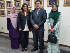 AHMAD IBRAHIM KULLIYYAH OF LAWS EXPRESSES ITS INTENTION TO WORK CLOSELY WITH THE LEGAL PROFESSION QUALIFYING BOARD IN STRENGHTHENING LAW PROGRAMMES