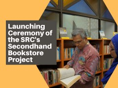 Launching Ceremony of the SRC's Secondhand Bookstore Project