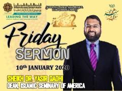 KHATIB THIS WEEK – 10th JANUARY 2020 (FRIDAY) SULTAN HAJI AHMAD SHAH MOSQUE, IIUM GOMBAK CAMPUS