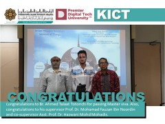 Congratulations to  Br. Ahmed Talaat Totonchi