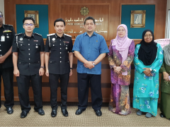 AHMAD IBRAHIM KULLIYYAH OF LAWS TO OFFER AN ACADEMIC PROGRAMME TO ENHANCE COMPETENCY OF OTHER RANKS IN THE IMMIGRATION DEPARTMENT