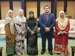 THE CHIEF JUSTICE AGREES TO ENHANCE COLLABORATION WITH AHMAD IBRAHIM KULLIYYAH OF LAWS