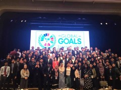 Representing INHART for Global Goals Summit 2020