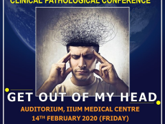 """An Invitation to KOM CPC- """"Get Out Of My Head"""" by Dept. of Psychiatry"""